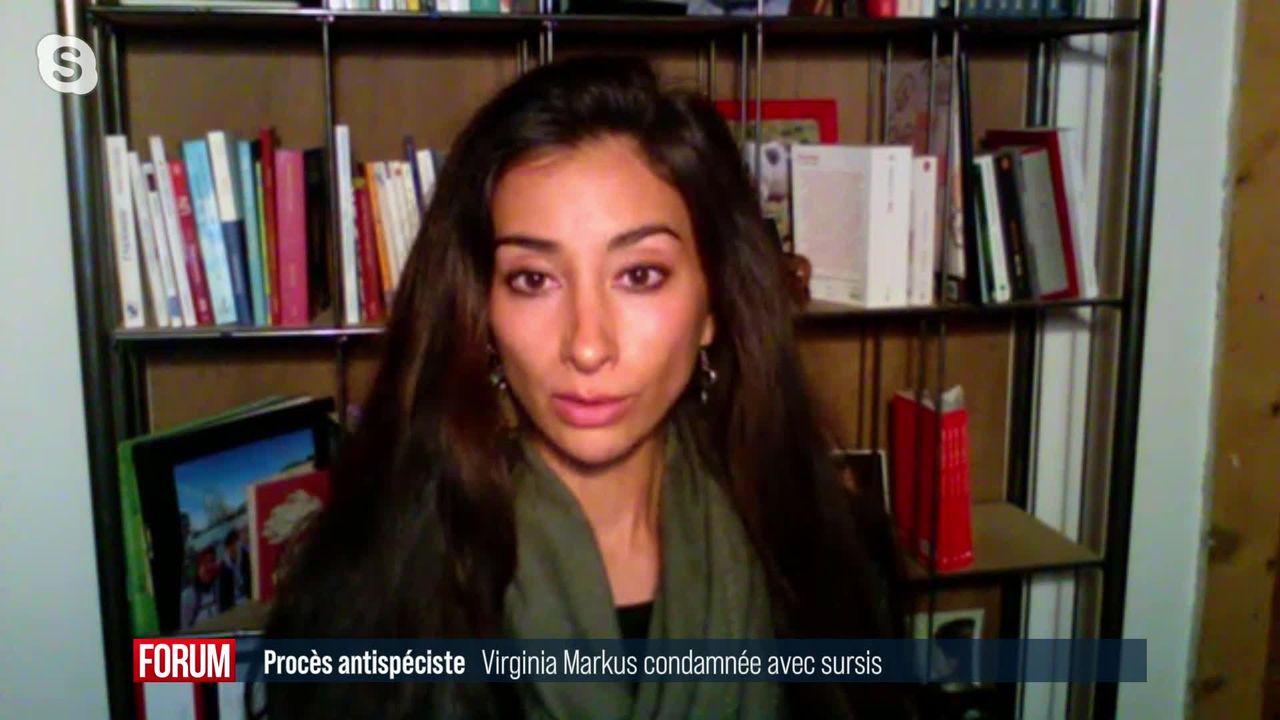 Virginia Markus a été condamnée avec sursis pour ses actions visant des abattoirs suisses (vidéo) [RTS]
