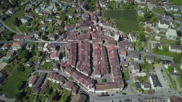 La Neuveville: une forteresse en forme d'hexagone [RTS]