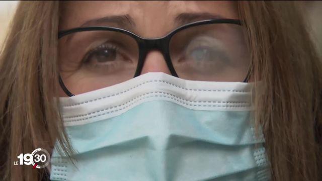 Des solutions pour concilier masque et lunettes. [RTS]