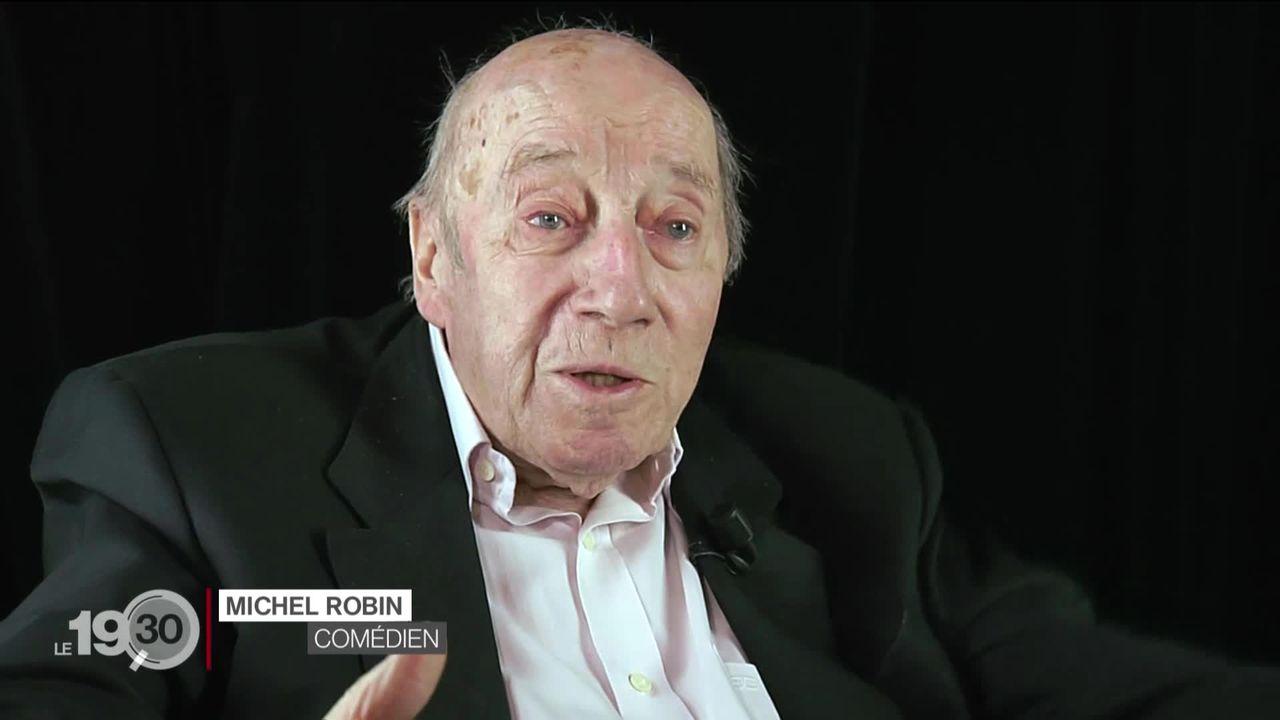Le comédien Michel Robin est décédé du Covid-19 à l'âge de 90 ans. [RTS]