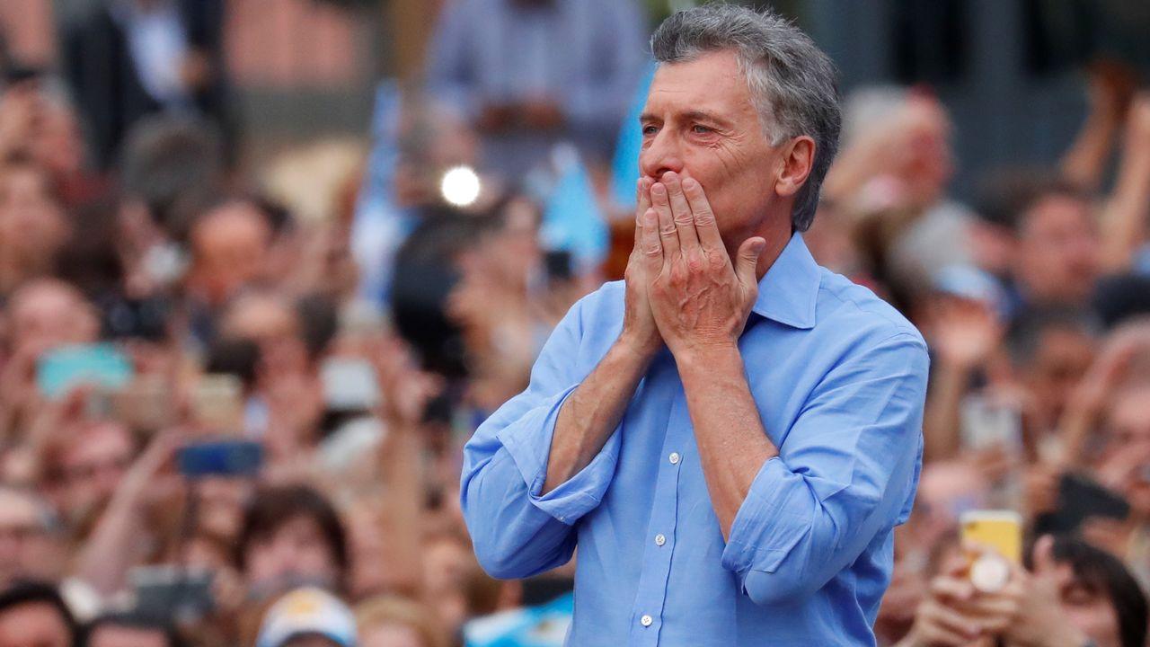 L'ex-président argentin Mauricio Macri avait été mis hors de cause en première instance après le drame du sous-marin San Juan, mais les familles des disparus ont fait appel. [Agustin Marcarian - Reuters]