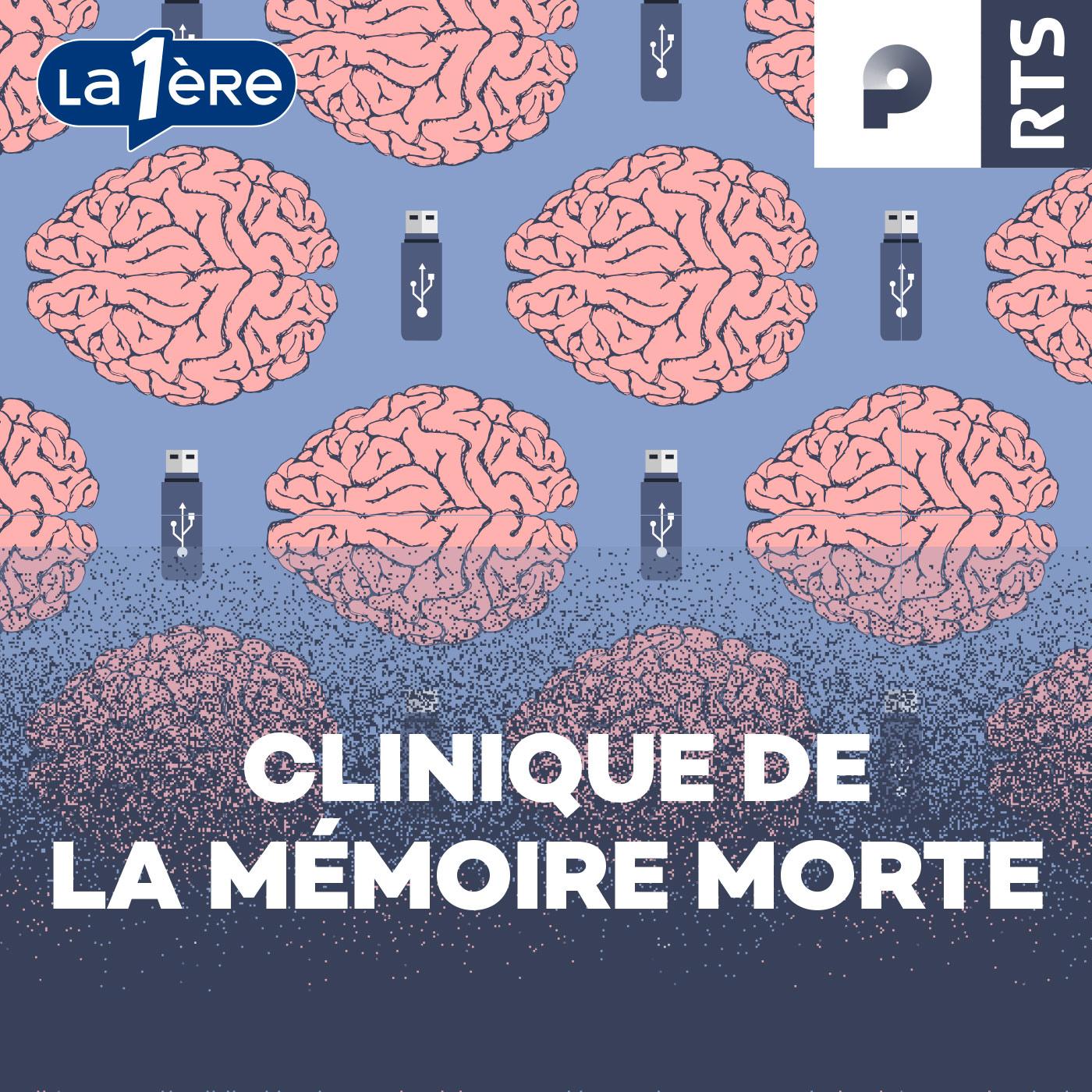 Logo Clinique de la mémoire morte (podcast)