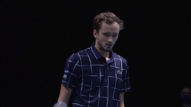 Round Robin, D. Medvedev (RUS) - D. Schwartzman (ARG) (6-3, 6-3): le Russe remporte son 3e match et fonce vers Nadal [RTS]