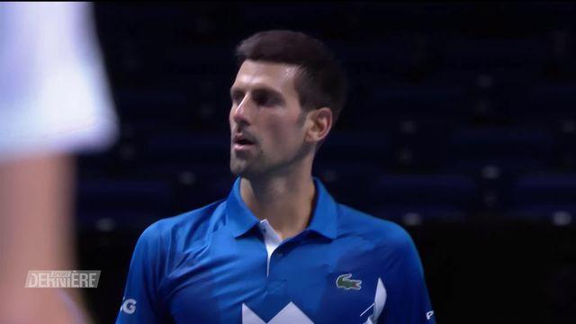 Round Robin, N. Djokovic (SRB) - A. Zverev (GER) (6-3, 7-6): sans briller, Djoko rejoint Thiem en demies [RTS]