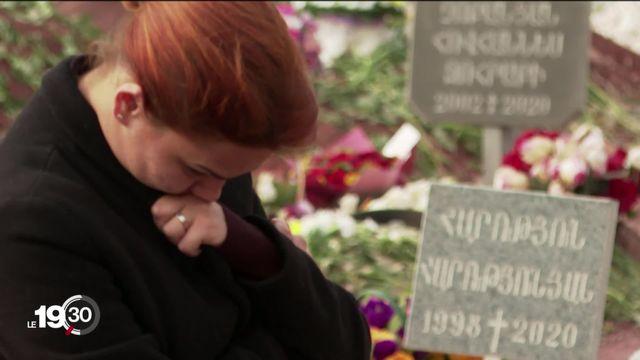 Les milliers de morts du Haut-Karabakh. [RTS]