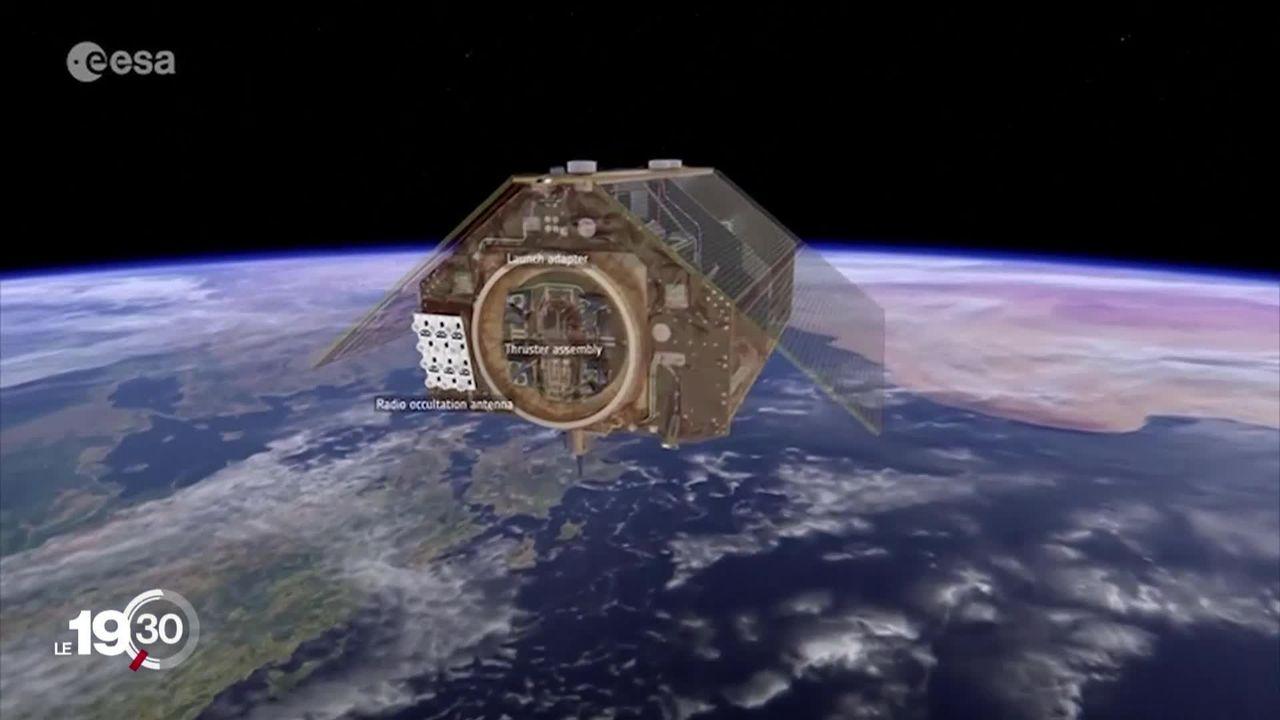 Un satellite a été lancé pour surveiller le niveau des océans. [RTS]