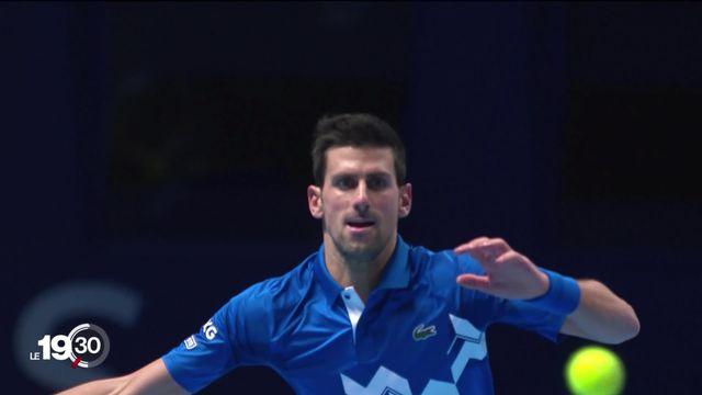 Novak Djokovic a été éliminé du Masters. [RTS]