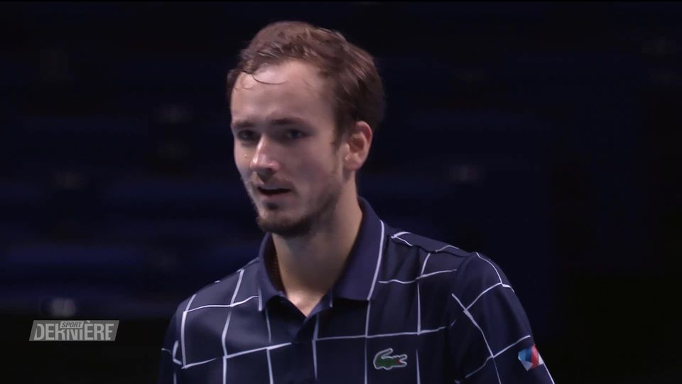 Tennis, ATP Finals, 1-2 finale: D. Medvedev (RUS) - R. Nadal (ESP) (3-6, 7-6, 3-6) [RTS]