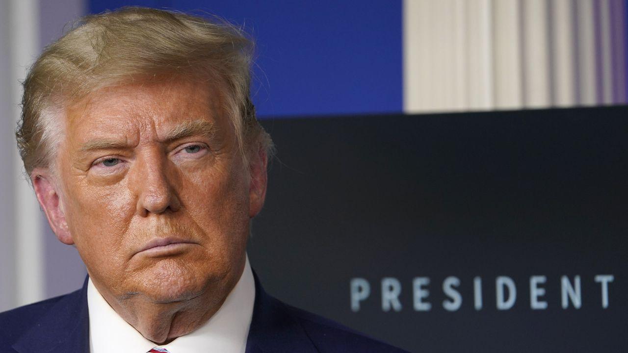 Une image du président des Etats-Unis Donald Trump prise le 20 novembre 2020 à la Maison Blanche. [AP Photo/Susan Walsh - Keystone]