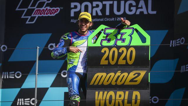 Victoire de Bastianini au général de Moto2! [Jose Sena Goulao - Keystone]