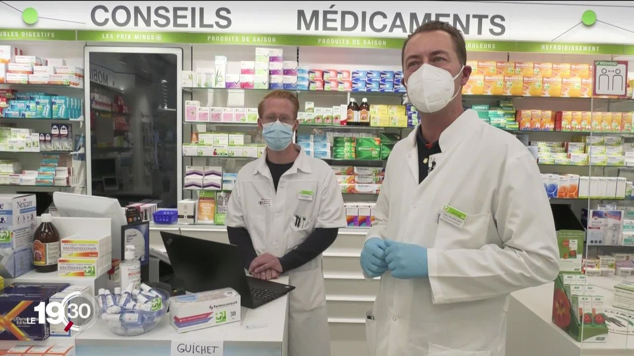 Covid-19: Les tests rapides antigéniques. [RTS]