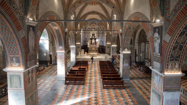 L'ex-vicaire de Lugano a été arrêté, soupçonné de séquestration. [Pablo Gianinazzi - KEYSTONE]