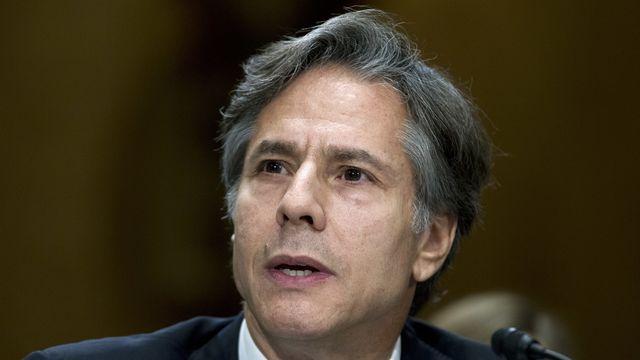 Antony Blinken était le numéro deux des affaires étrangères dans le gouvernement Obama. [Jose Luis Magana - Keystone/AP Photo]