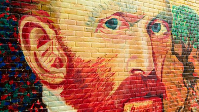 Graffiti figurant Vincent Van Gogh à Wassenaar, Pays-Bas. [Dutchlight - Depositphotos]