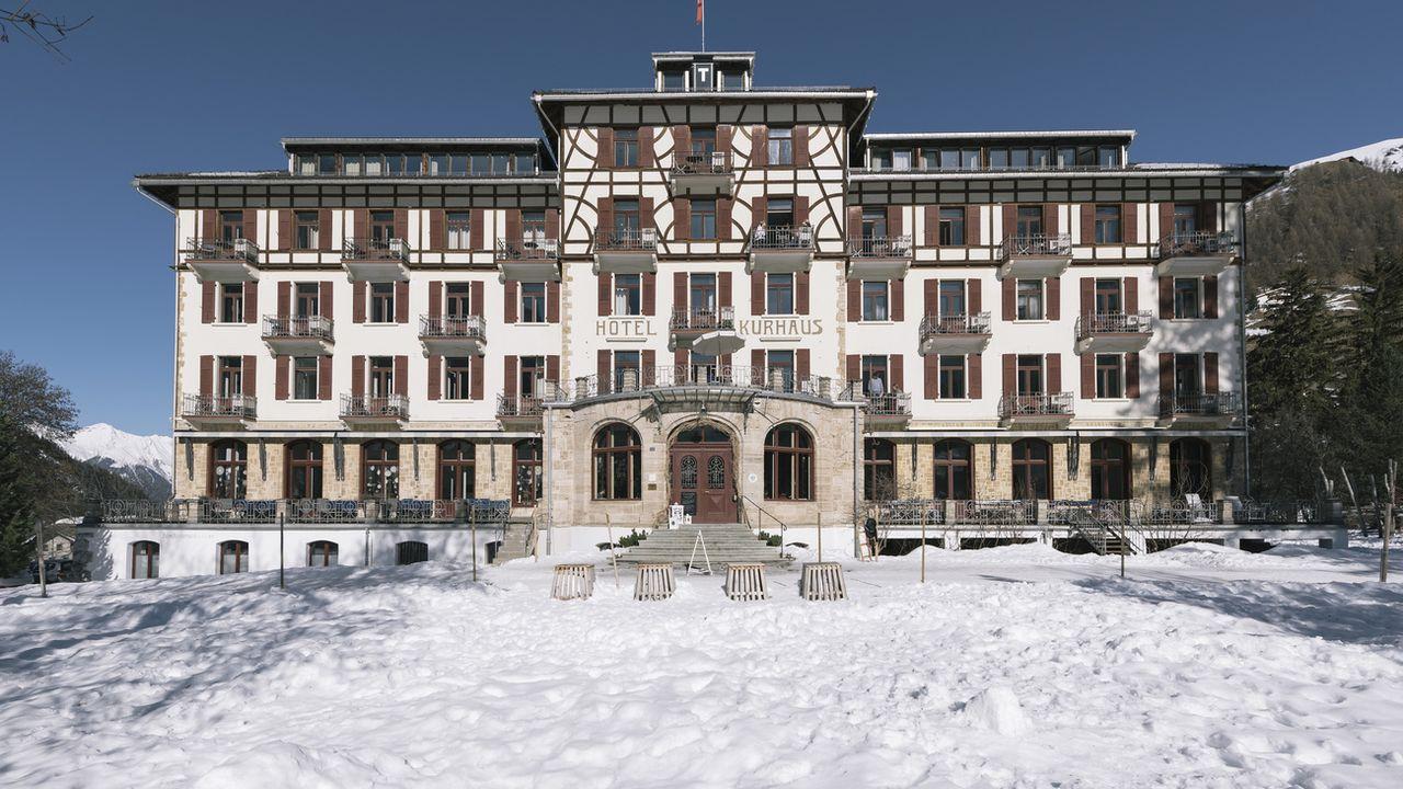 Hôtel Kurhaus à Bergün, dans les Grisons [Chriistian Beutler - KEYSTONE]