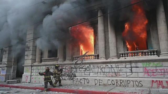 manifestation guatemala [RTS]