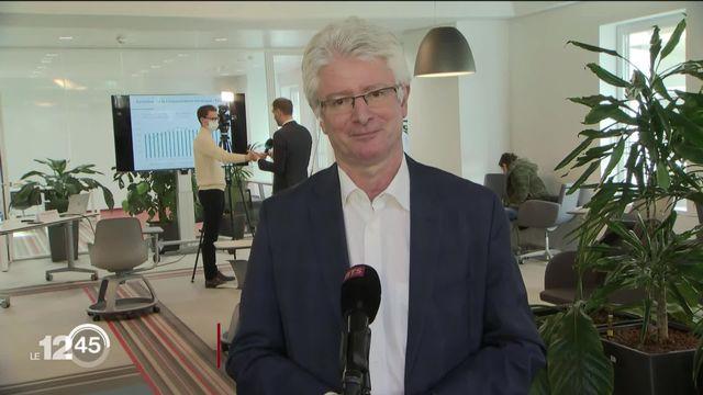 Christian Brunier se réjouit de la baisse de consommation énergétique du canton de Genève [RTS]