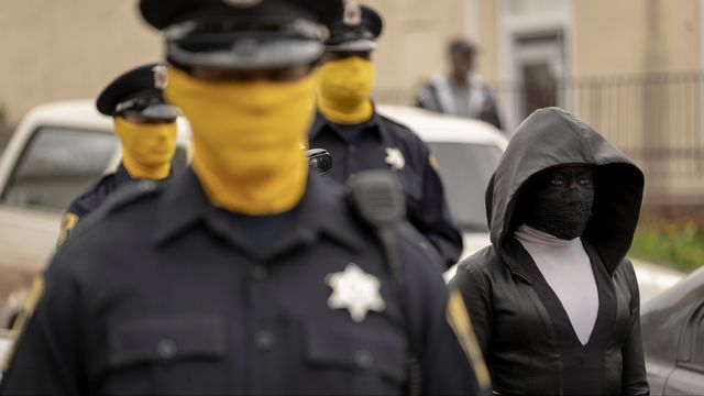 """Une scène de la série """"Watchmen"""". [HBO - RTS]"""
