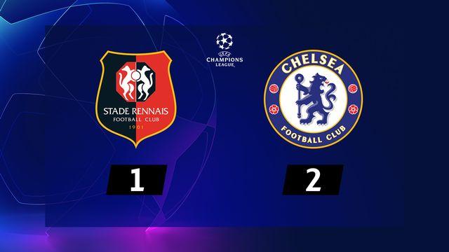 4e journée, Rennes - Chelsea (1-2) [RTS]