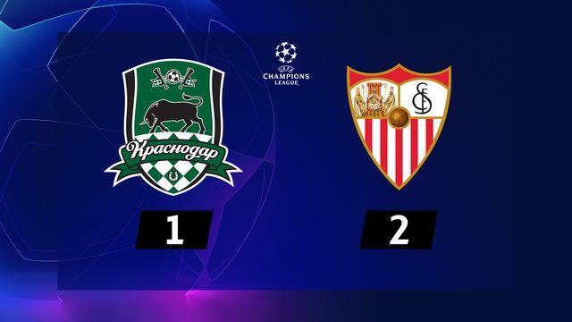 4e journée, Krasnodar - FC Séville (1-2) [RTS]