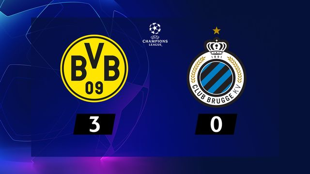 4e journée, B. Dortmund - Bruges (3-0) [RTS]