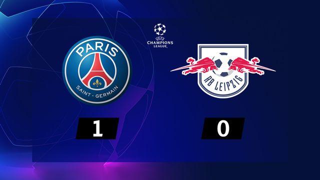 4e journée, Paris SG - RB Leipzig (1-0) [RTS]