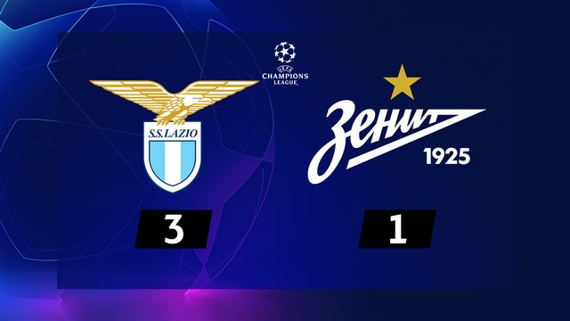 4e journée, Lazio - Zenit St-Pét. (3-1) [RTS]