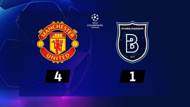 4e journée, Man. United - Istanbul Basaksehir (4-1) [RTS]