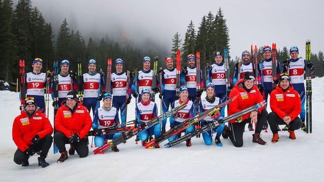 L'équipe de Suisse de fond débutera la saison à Kuusamo (Finlande). [Eddy Risch - Keystone]