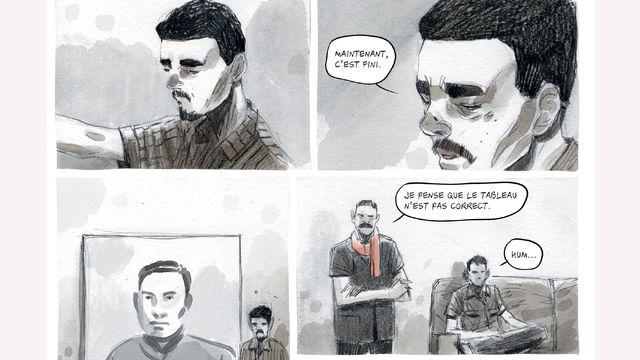 """Matteo Mastragostino et Paolo Castaldi, """"Vann Nath – Le peintre des Khmers rouges"""". [éditions La Boîte à Bulle]"""