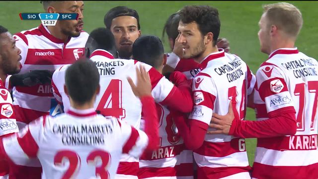5e journée, Sion- Servette (2-0): première victoire de la saison pour Sion [RTS]