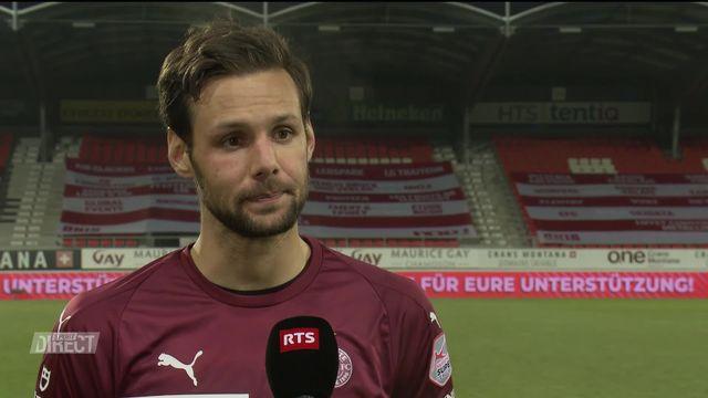 5e journée, Sion- Servette (2-0): Sasso à l'interview [RTS]