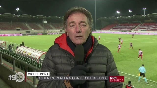 Décès de Diego Maradona: le commentaire de Michel Pont, ancien entraîneur-adjoint de l'équipe de Suisse. [RTS]