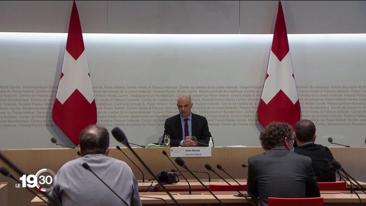 Le projet de réforme du deuxième pilier à nouveau proposé par le Conseil fédéral. [RTS]