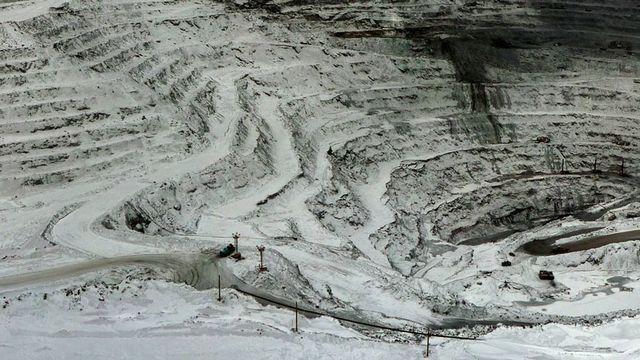 Mine d'or de Kumtor, au Kirghizistan [Michael Karavanov - Wikimédia]