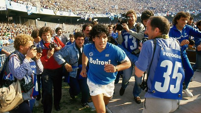 "Image extraite du film ""Diego Maradona"" de Asif Kapadia. [Mars Films - DR]"