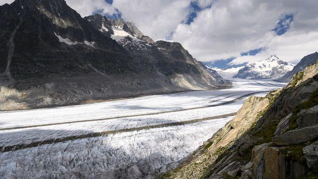 La Suisse peut atteindre la neutralité climatique d'ici 2050. [Laurent Gilliéron - Keystone]