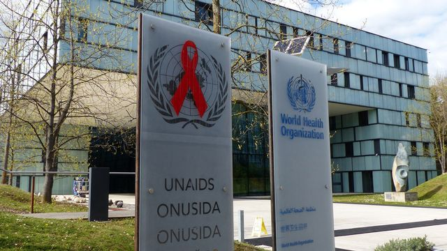 Le siège d'ONUSIDA à Genève [Jamey Keaten - KEYSTONE/AP PHOTO]