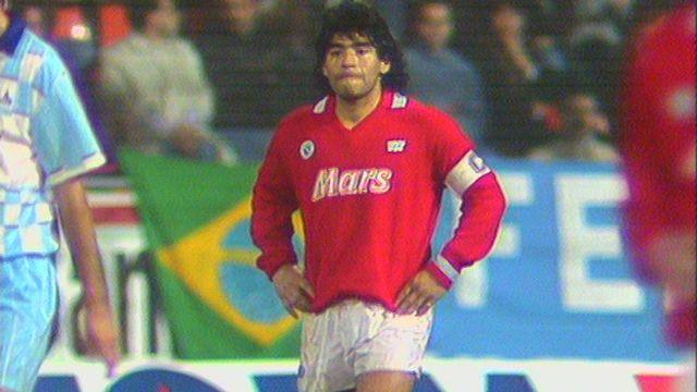 Maradona en Suisse [RTS]