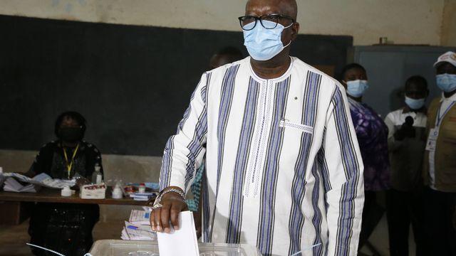 Second mandat pour le président Roch Marc Christian Kaboré [EPA/LEGNAN KOULA - AFP]