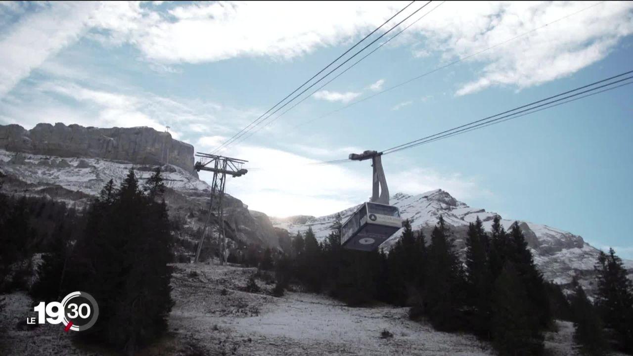 La Suisse se retrouve sous la pression de ses voisins européens au sujet de l'ouverture des stations de ski [RTS]
