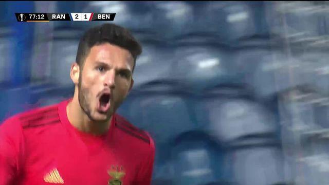 4e journée, Rangers – Benfica (2-2) : les hommes de Steven Gerrard concèdent le nul à domicile [RTS]