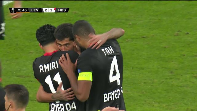 4e journée, Leverkusen – Hapoel Beer Sheva (4-1) : victoire nette des Allemands [RTS]