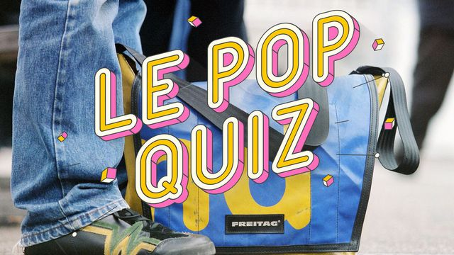 "Le design suisse au menu du ""Pop quiz"" du jour. [Martin Ruetschi - Keystone]"