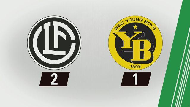 Tous les buts: Lugano - YB (2-1) <Copy> [RTS]