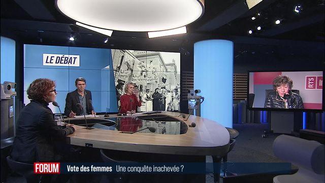Le grand débat - Le vote des femmes, une conquête inachevée? [RTS]