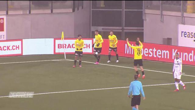 Challenge League, 11e journée: Schaffhouse - Neuchâtel Xamax (2-0) [RTS]