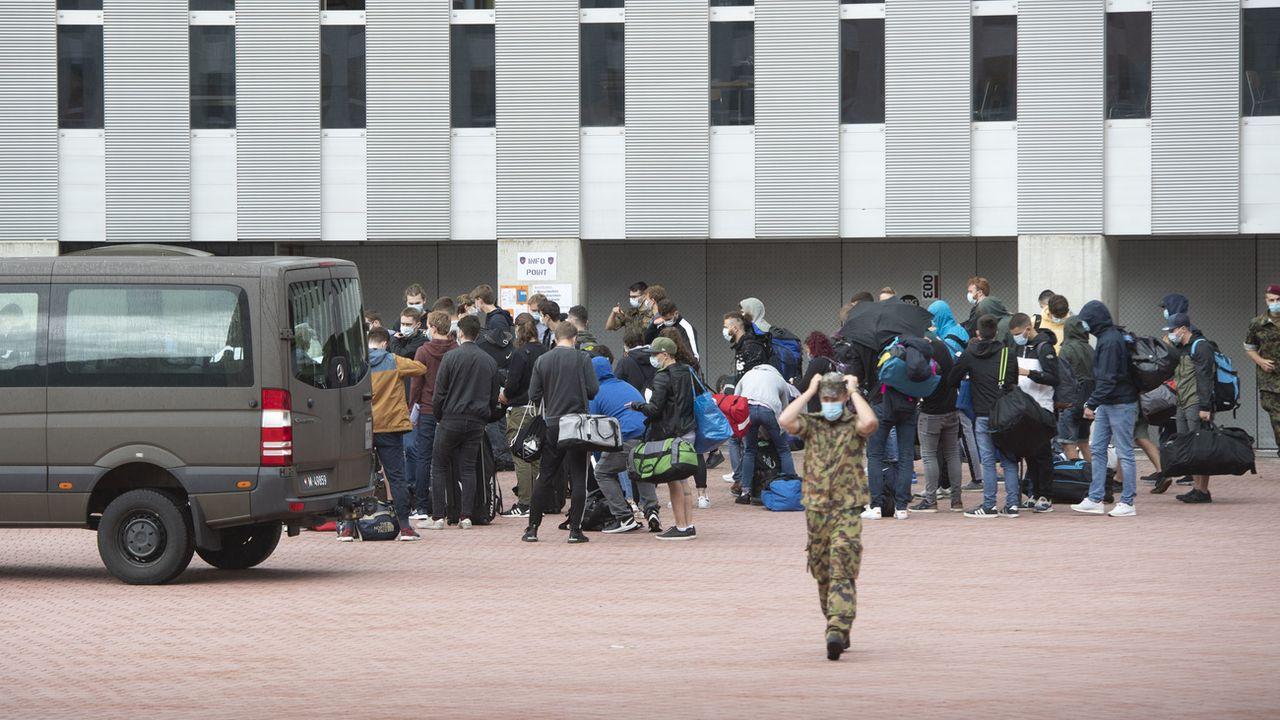 Le chef de l'armée s'attend à une affluence record pour la prochaine école de recrues. [Pablo Gianinazzi - Keystone/Ti-Press]