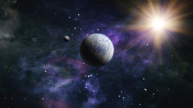 Nébuleuses et exoplanètes. [Maximusdn - Depositphotos]