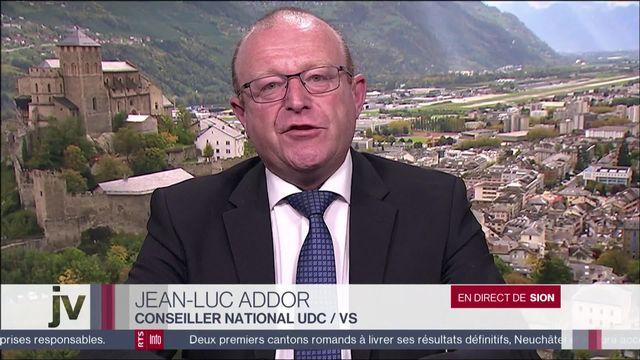 """""""Les Suisses sont attachés à leur armée""""  Jean-Luc Addor, conseiller national (UDC-VS) [RTS]"""